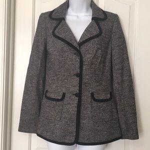 Doncaster wool knit blazer